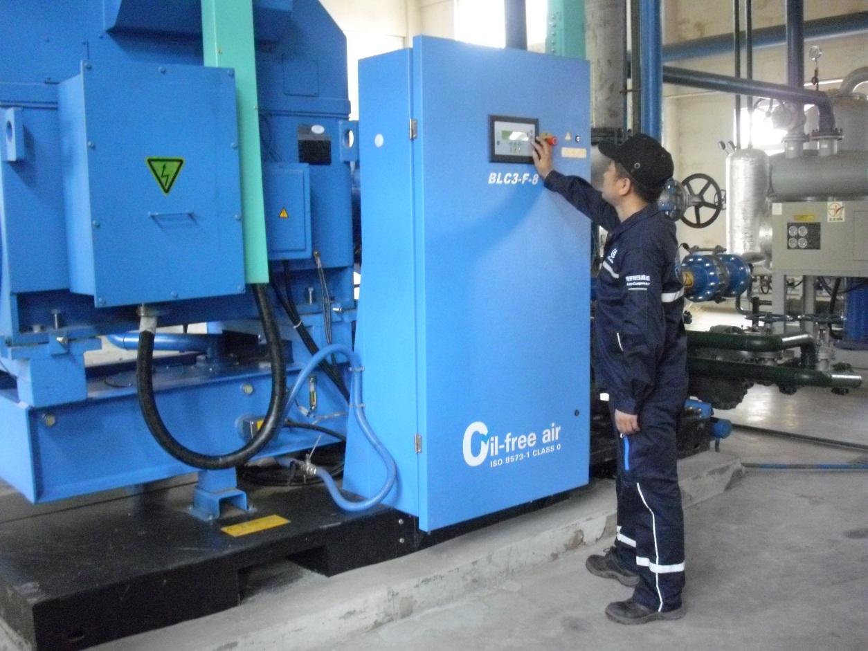 橡胶行业空压机案例